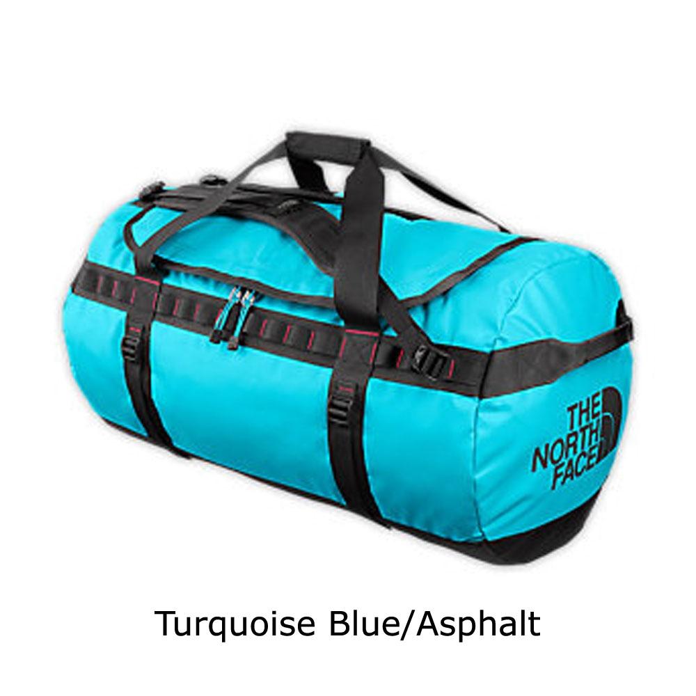 online store 2b2ec d99bf ljus blå the north face base camp duffel medium bag väska bagar   väskor