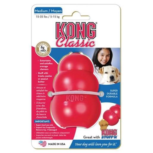 Kong Medium Röd