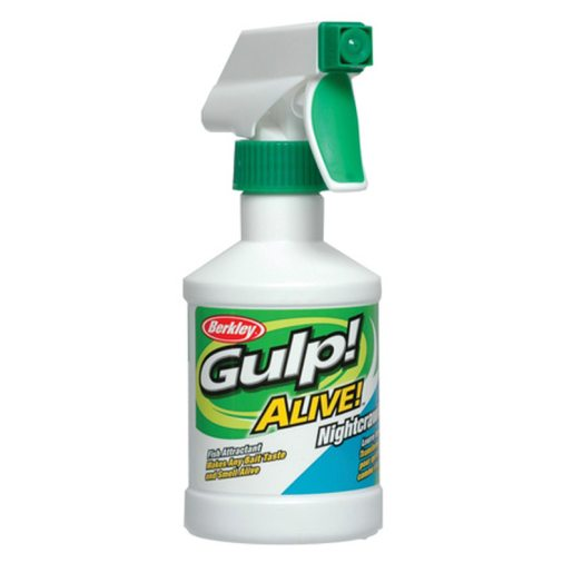 GULP! ALIVE SPRAY 8oz NIGHTCRAWLER Mask