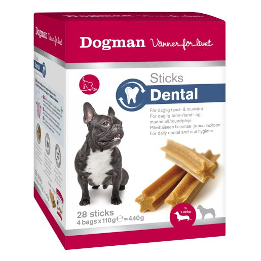 Stick Dental S box tuggpinnar för hund