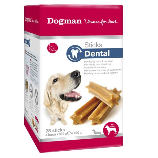Stick Dental M/L box tuggpinnar för hund
