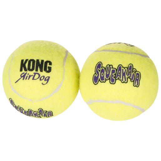 Hundleksak Air Kong Squeaker Tennisboll