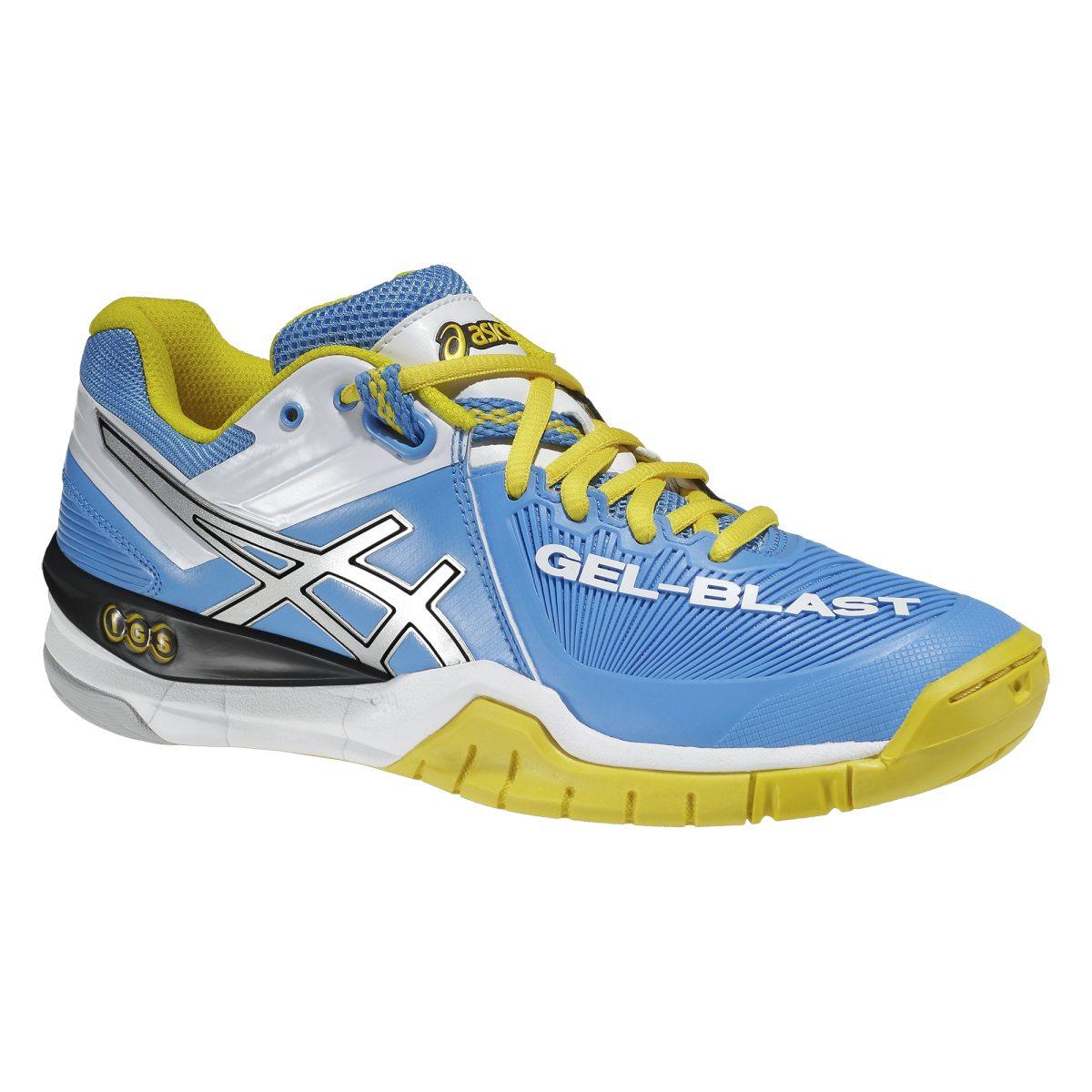 best sneakers ab62b a7297 ljus blå asics gel blast 6 inomhussko dam inomhusskor