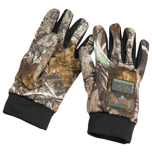 Bison handskar med Scent-Lok®