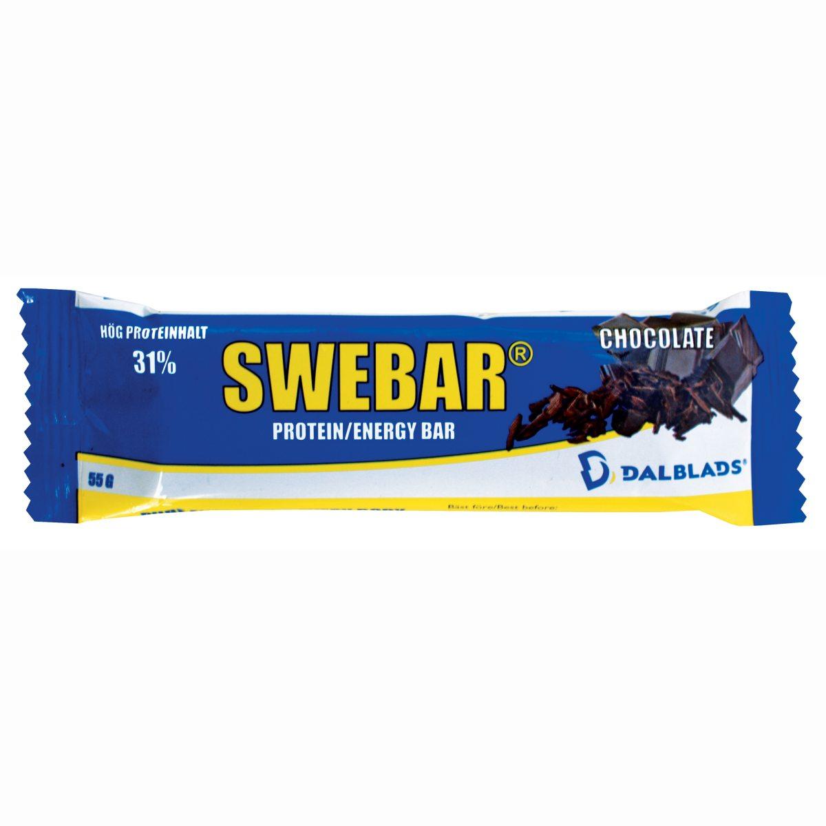 Swebar, proteiinipatukka 55 g, suklaa