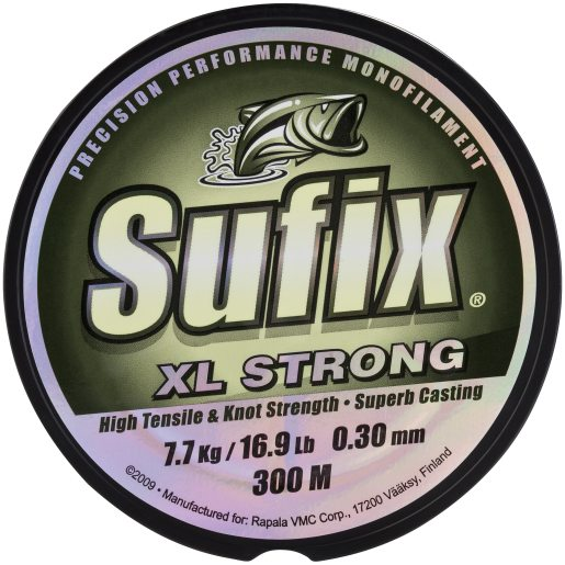 Sufix XL Strong 300m 030 mm/77kg clear