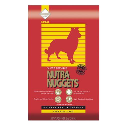 Nutra Nuggets Lamb & Rice 15 kg hundfoder