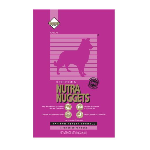 Nutra Nuggets Lite/Senior 15 kg hundfoder