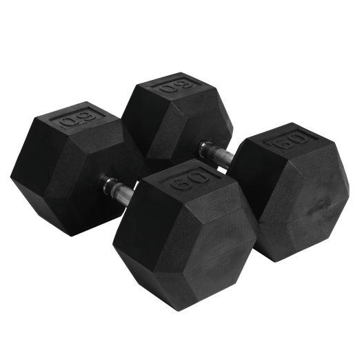 Abilica Hex Dumbbell 60 kg, manualer 60kg