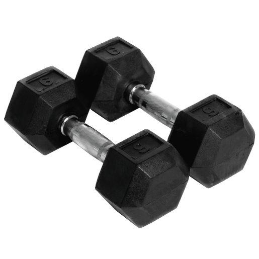 Abilica Hex Dumbbell 9 kg, manualer 9kg