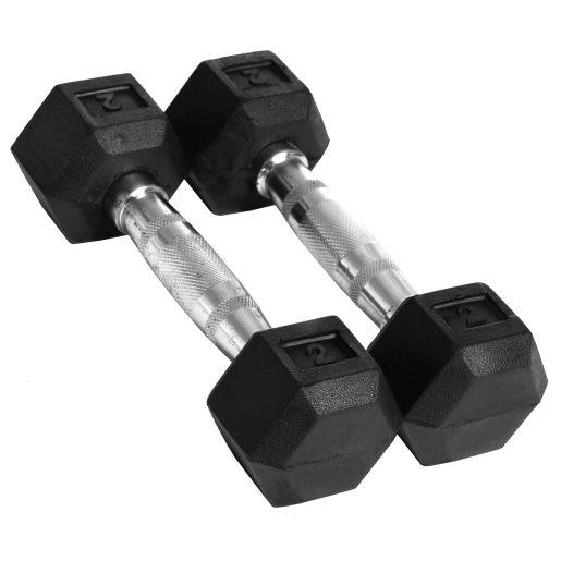 Abilica Hex Dumbbell 2 kg, manualer 2kg