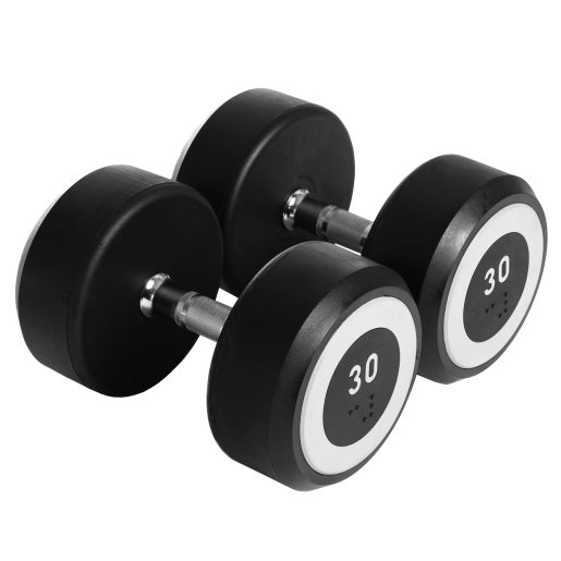 Abilica Rubber Dumbbell 30 kg, manualer 30kg