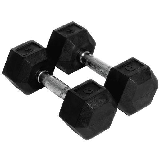 Abilica Hex Dumbbell 6 kg, manualer 6kg
