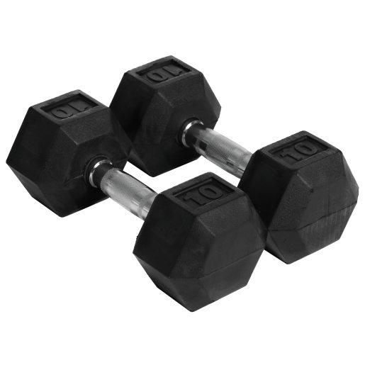 Abilica Hex Dumbbell 10 kg, manualer 10kg