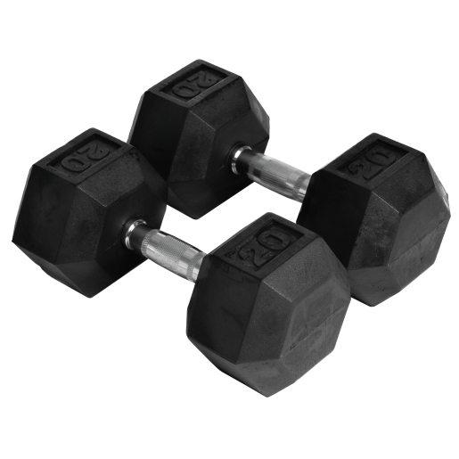Abilica Hex Dumbbell 20 kg, manualer 20kg