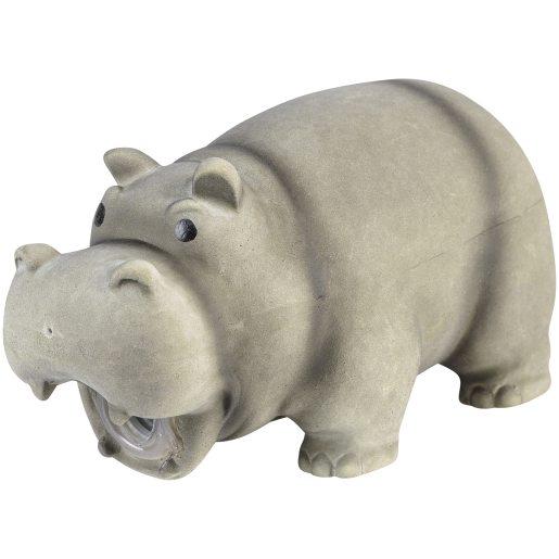 Dog toy Hippo Grey