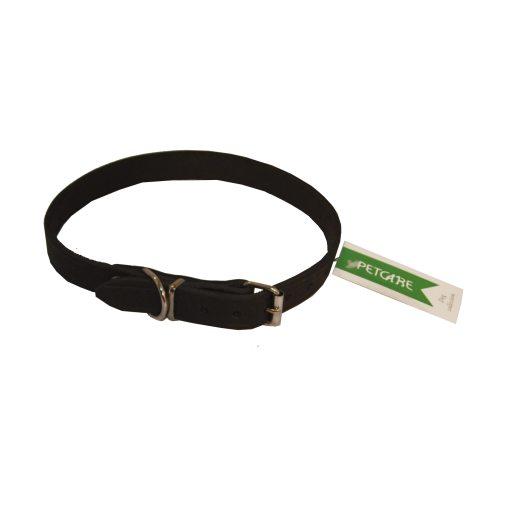 Läderhalsband 45 cm Brown
