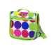 Micro Rucksack Neon Dots, Tasche zum Anbringen am Kickboard