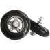 Rollerski wheel S7 1 pc, rulleskihjul 17