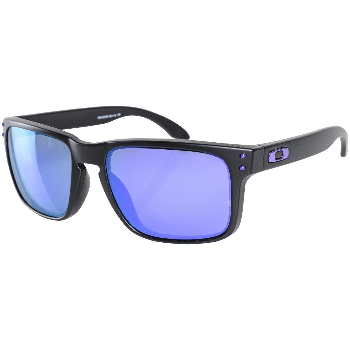 oakley solbriller blå