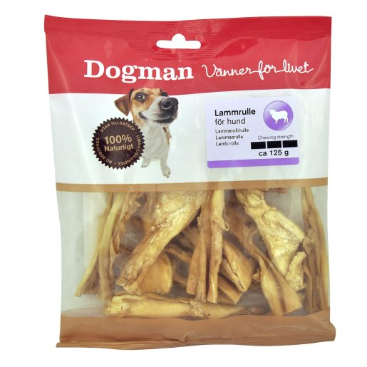 Dog chew lamb roll 125 g lammrulle