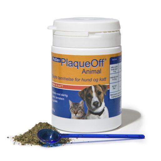 Plaque Off 60 g NO avlägsnar plack på hund och katt