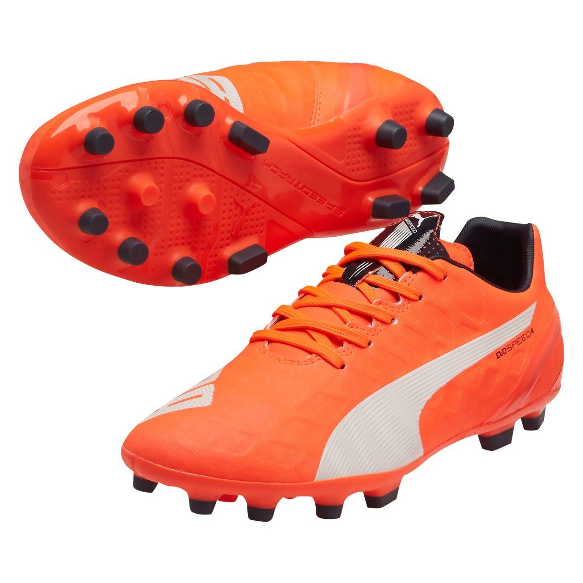 brand new d91bb d3bf4 puma evospeed 4.4 ag fotbollssko junior fotbollsskor
