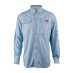 Fiskeskjorten Penn Blå L UPF30