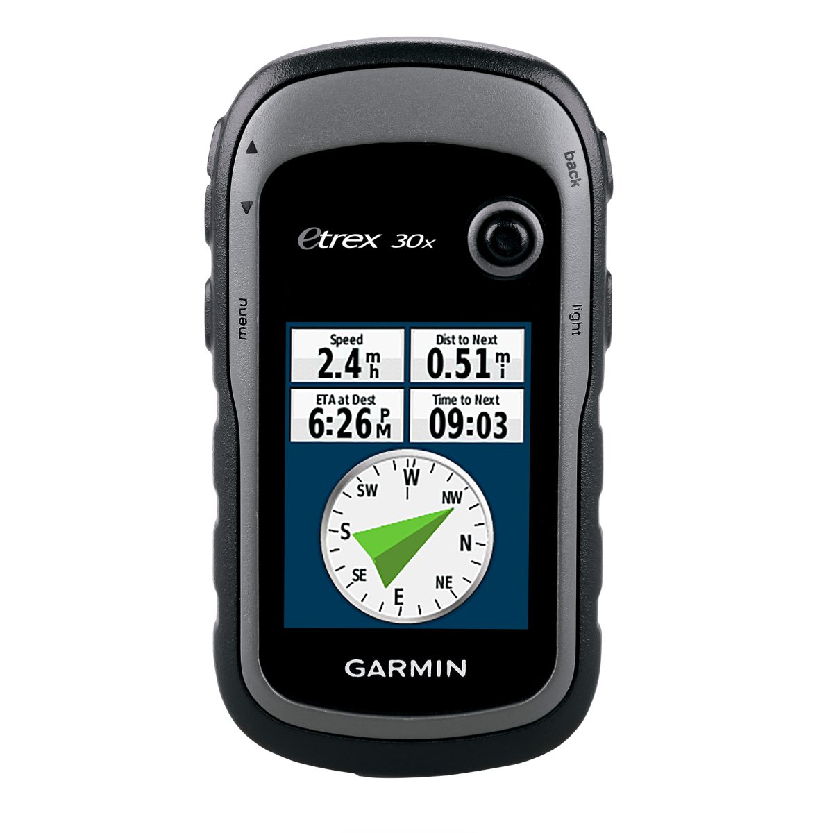 gps kart europa Garmin eTrex 30x, Vest Europa, GPS m/ kart   gps kart europa