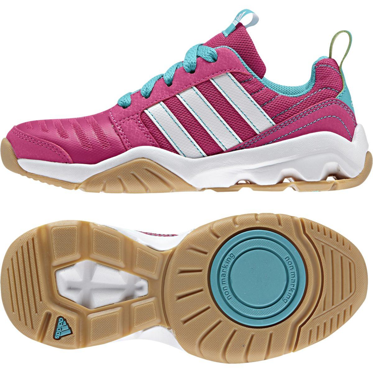 new product 0aa79 47827 rosa adidas gymplus 3 k inomhussko junior inomhusskor barn