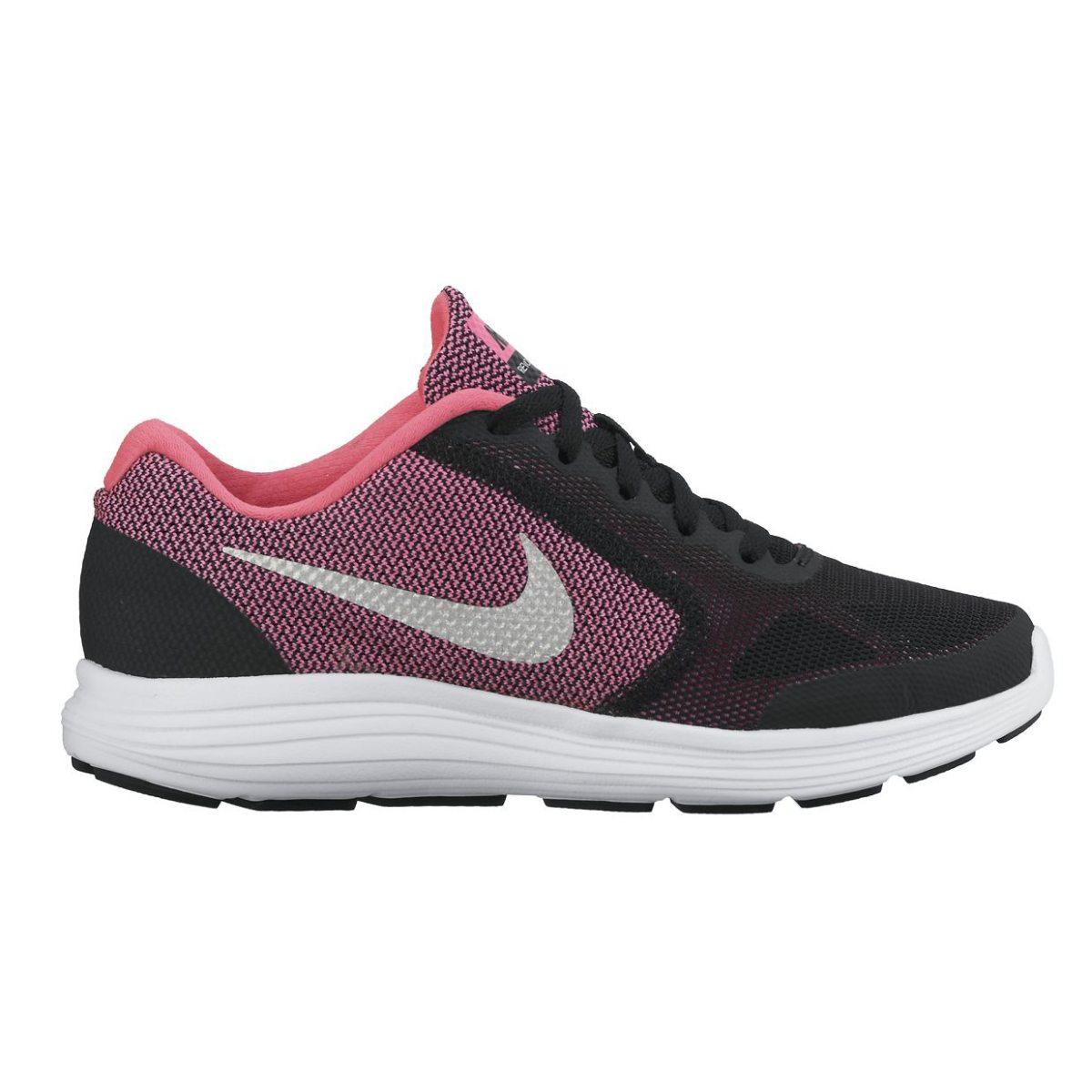 super popular f22a8 a6fd8 rosa nike revolution 3 gs fritidssko junior fritidsskor och sneakers barn