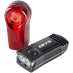 Mega LED bike light set USBcharge front light, sykkellykter