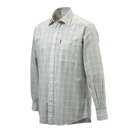 Drip Dry Shirt Plain Collar bomullsskjorta