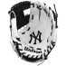A200 MLB NYY Team Glove , baseballhanske junior