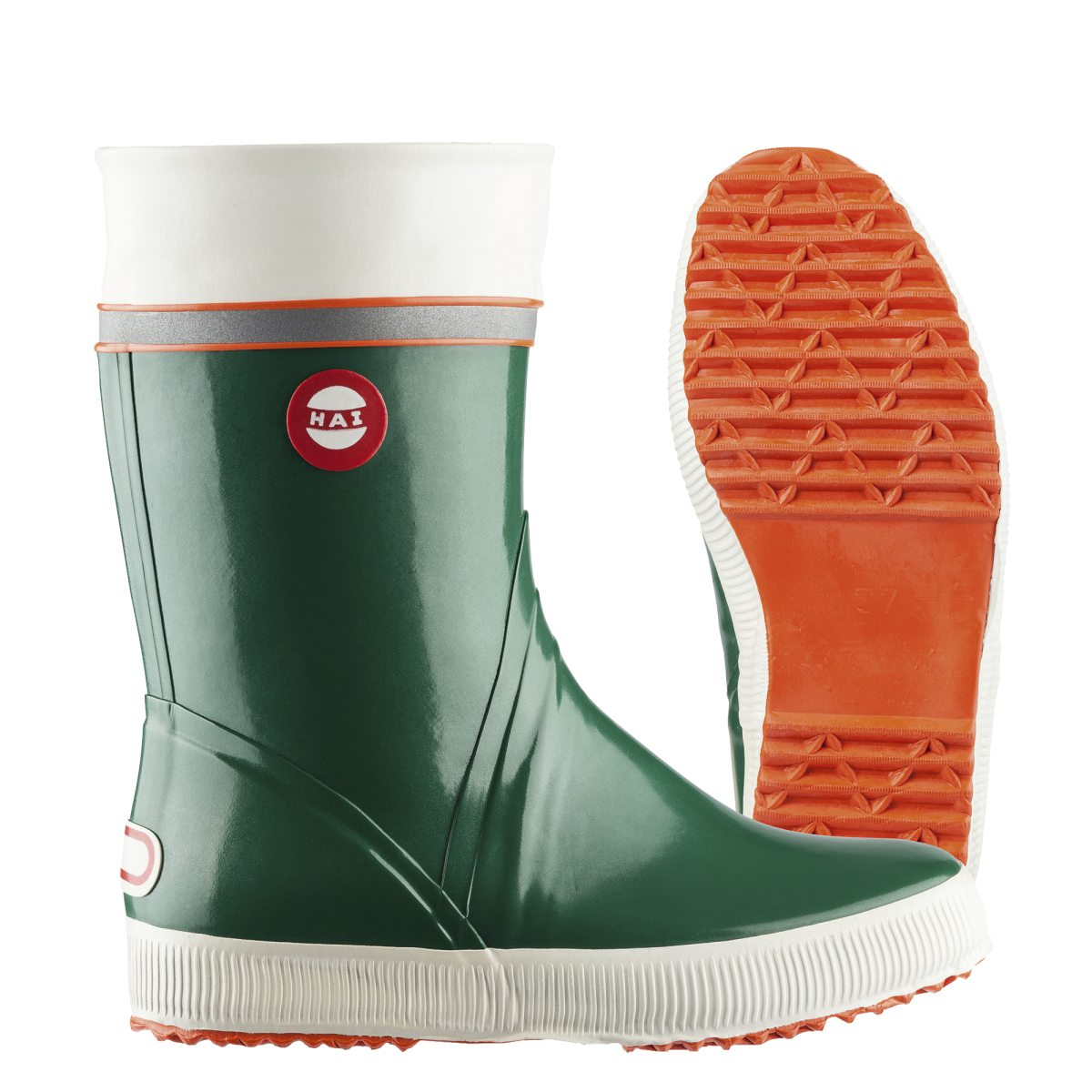 c2504286bde grön nokian footwear hai mörk blå gummistövel green tricolor gummistövlar  herr