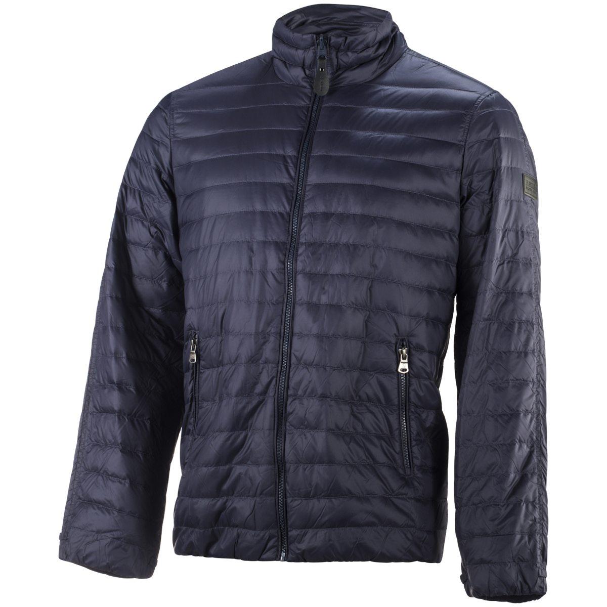 blå johaug win puffer jacket fritidsjacka dam dunjackor