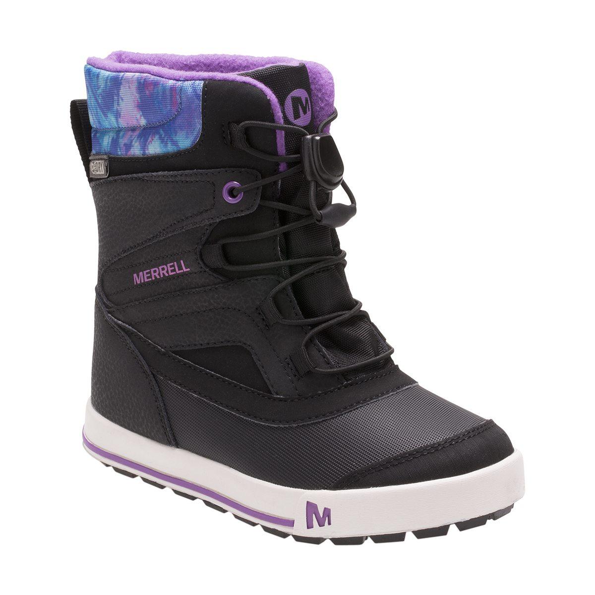 more photos 2bb2f 8e14a violet merrell snow bank 2.0 waterproof vinterkänga barn vinterskor