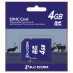 SD card. SDHC 4 GB, minnekort