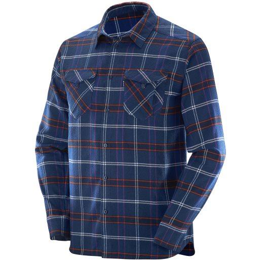Boundless LS Flannel Shirt flanellskjorta herr