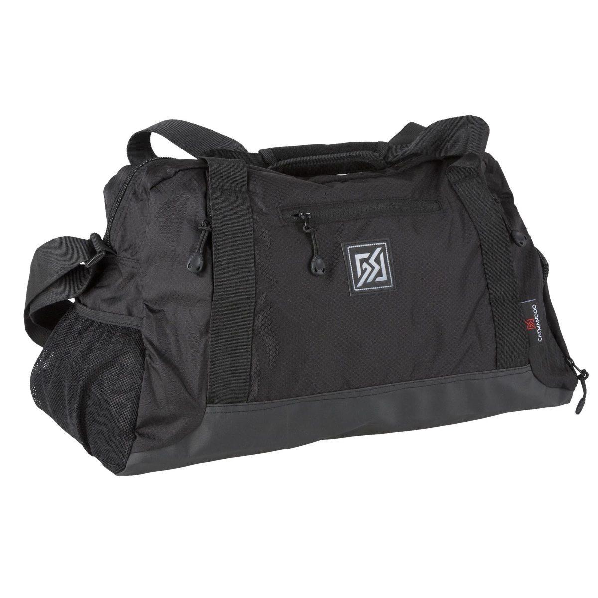 ce608bfd svart catmandoo delia gym bag träningsväska duffelbag & träningsväskor