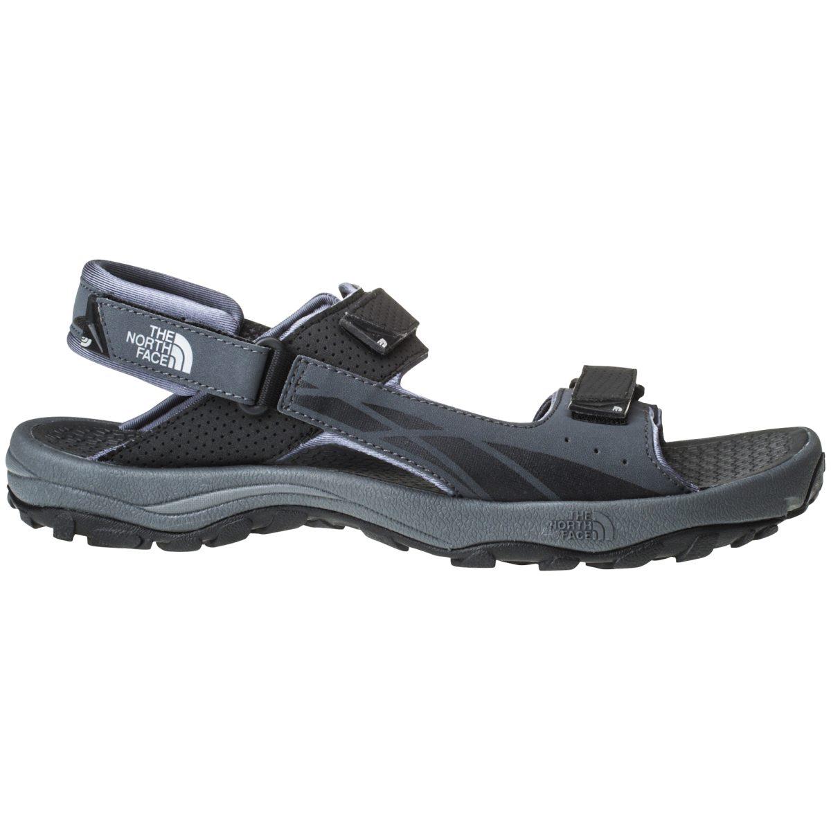 Herr sandal sko, denimjeanssvart. Rieker.