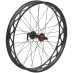 Wheel rear 26 Fat w/converter kit, bakhjul, 9 - 12 mm aksling