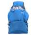 Mini bright blue, barnepose