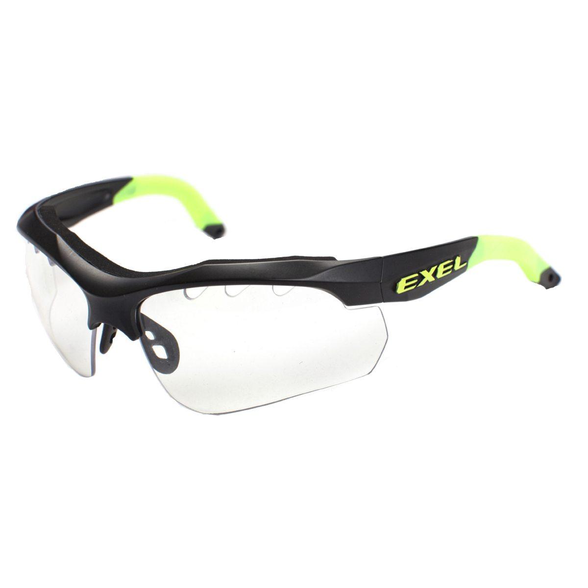 svart exel x100 eye guard glasögon innebandy senior skyddsglasögon b6af46ac0ad92