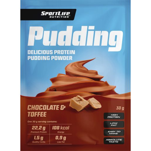 Sportlife Pudding Chocolate-Toffee