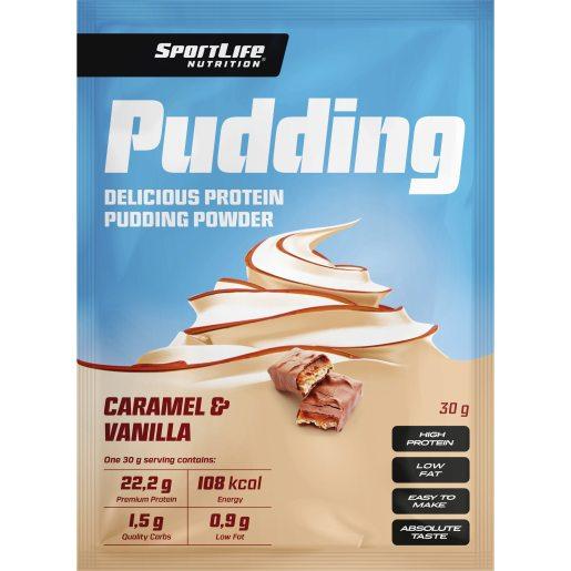 Sportlife Pudding Vanilla-Caramel