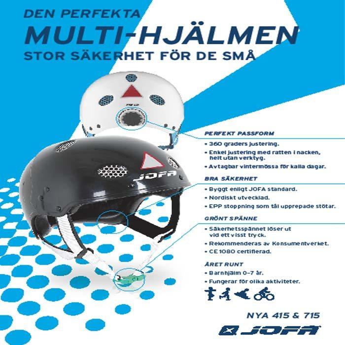 HT415 S, Multisporthjelm Junior