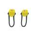 Mini Led light set neon yellow, sykkellyktsett