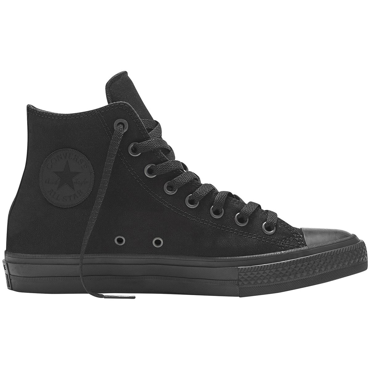 premium selection e4492 c0834 svart converse chuck taylor all star ii mono hi black fritidsskor    sneakers herr