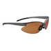 BOF76 Matt Silver Multisport glasses, multisportbriller